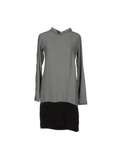 Prim I Am | Женское Серое Короткое Платье