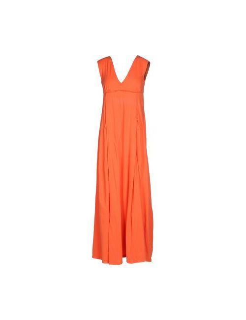Douuod | Женское Красное Длинное Платье