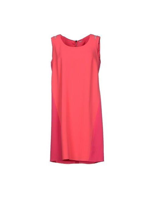Elie Tahari   Женское Розовое Короткое Платье