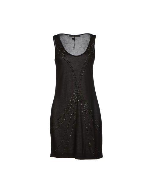 Calvin Klein Jeans | Женское Чёрное Короткое Платье