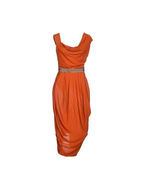 Vivienne Westwood Red Label | Женское Коричневое Платье Длиной 3/4