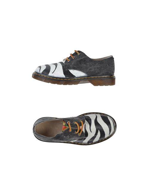 Shoes Dipartment | Женская Серая Обувь На Шнурках