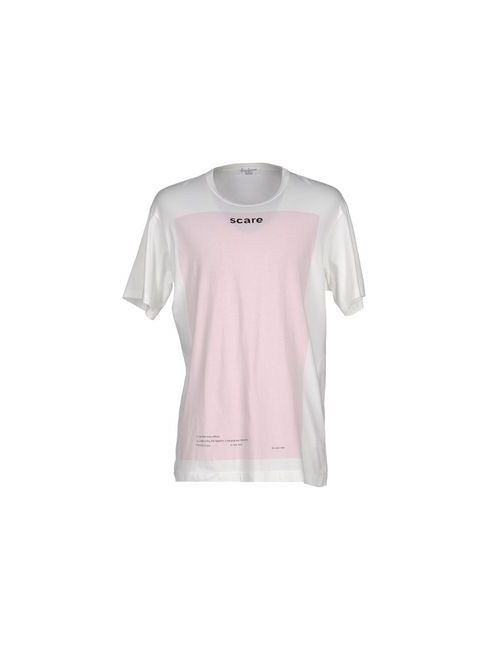 Yohji Yamamoto Pour Homme   Мужская Розовая Футболка