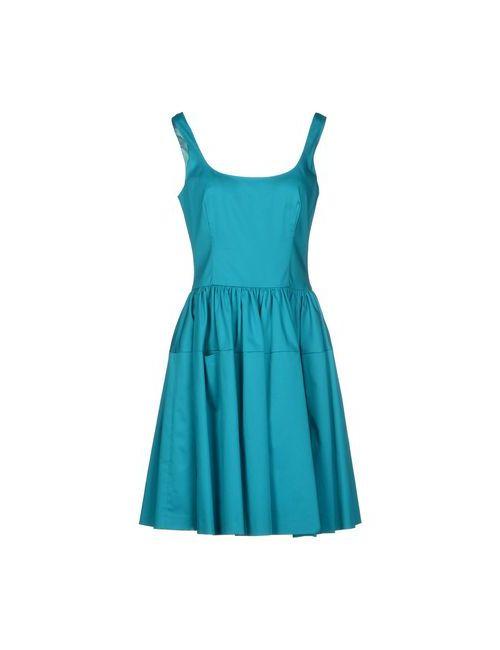 Gio' Guerreri   Женское Бирюзовое Короткое Платье