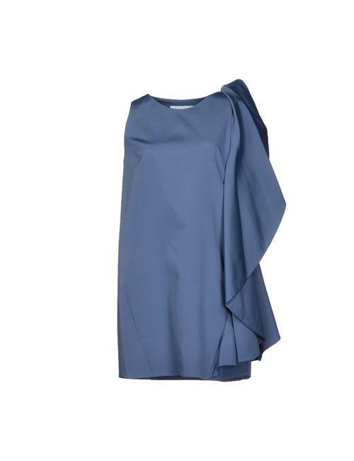 Gianluca Capannolo | Женское Синее Короткое Платье