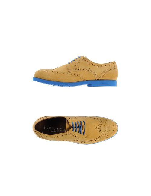 Cantarelli | Мужская Синяя Обувь На Шнурках