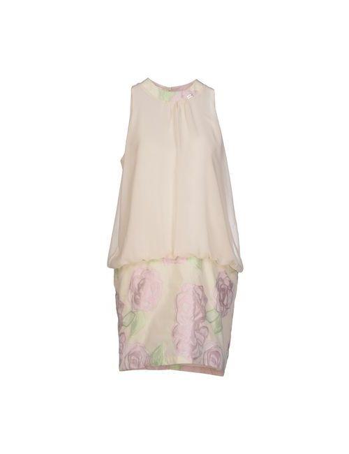 Blugirl Folies | Женское Бежевое Короткое Платье