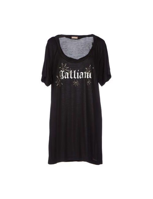 Galliano | Женская Черный Футболка