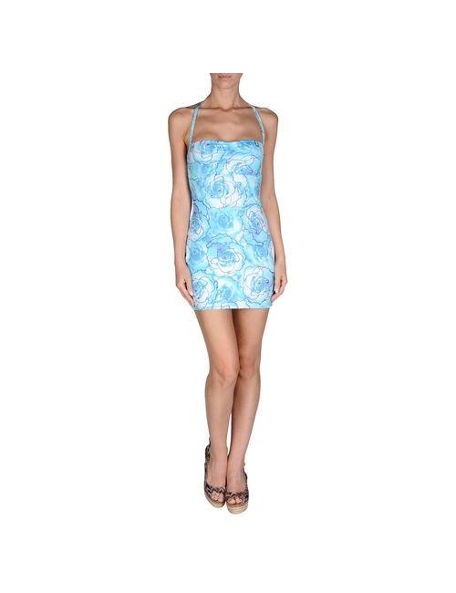 Just Cavalli Beachwear | Женское Голубое Пляжное Платье