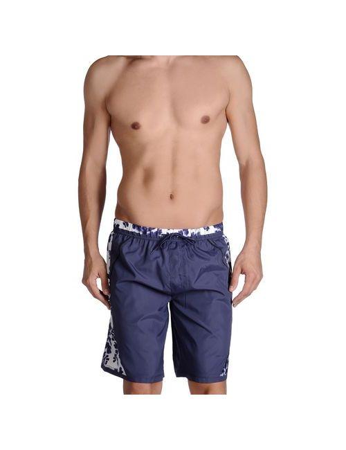 Just Cavalli Beachwear | Мужские Фиолетовые Шорты Для Плавания