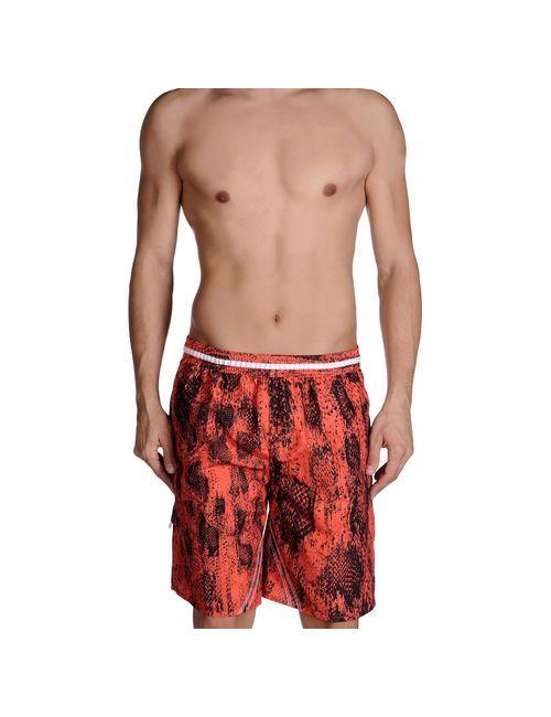 Just Cavalli Beachwear | Мужские Коричневые Шорты Для Плавания