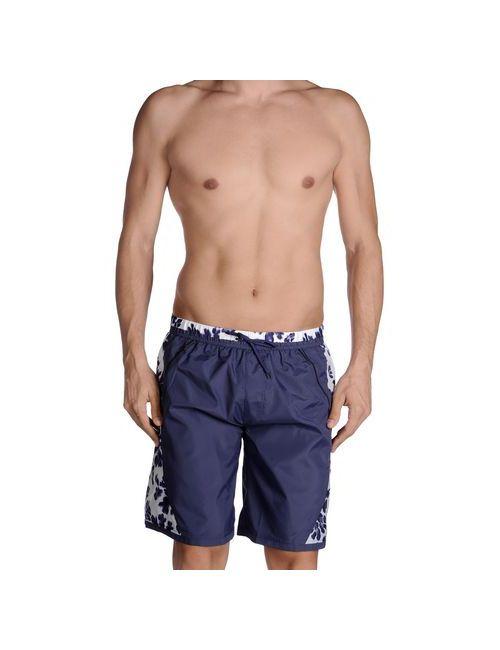 Just Cavalli Beachwear | Мужские Синие Шорты Для Плавания