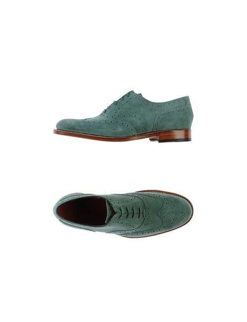 Grenson | Женская Зелёная Обувь На Шнурках