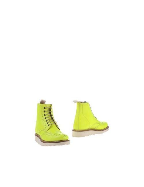 Grenson | Женские Жёлтые Полусапоги И Высокие Ботинки