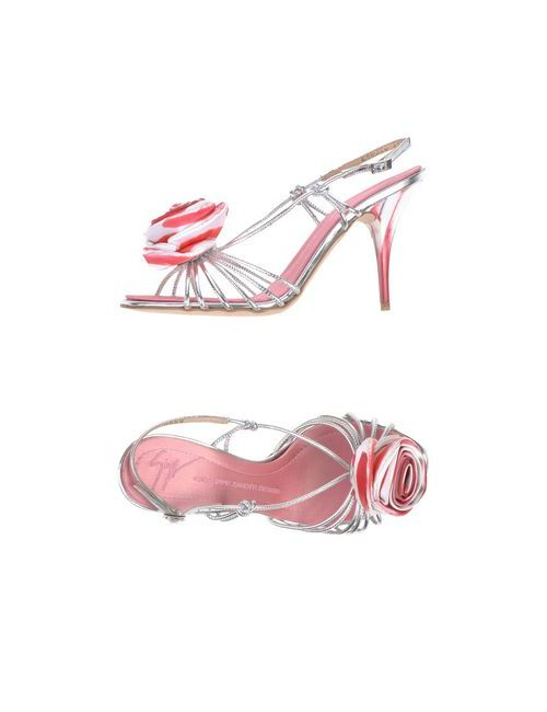 Giuseppe Zanotti Design | Женские Серебристые Сандалии