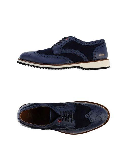 Moschino | Мужская Обувь На Шнурках
