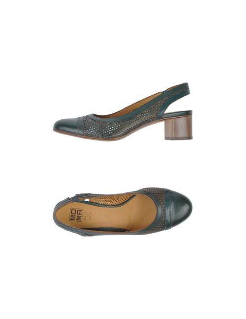 Moma | Женские Зелёные Туфли