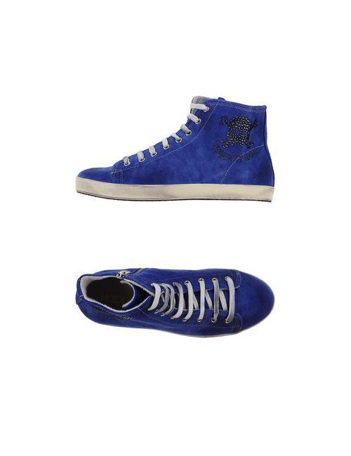 Happiness Shoes | Женские Синие Высокие Кеды И Кроссовки