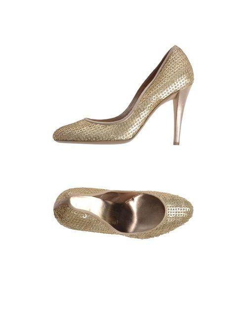 Salvatore Ferragamo | Женские Золотистые Туфли