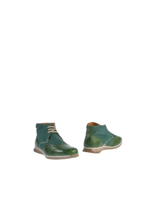 Gold Brothers | Мужские Зелёные Полусапоги И Высокие Ботинки