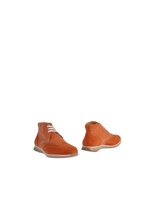 Gold Brothers | Мужские Оранжевые Полусапоги И Высокие Ботинки