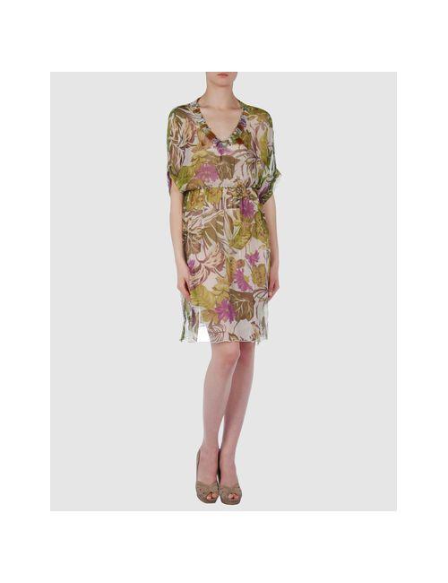 Lafty Lie | Женское Зелёное Короткое Платье