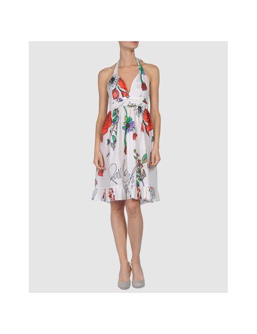 Pam & Arch | Женское Белое Короткое Платье
