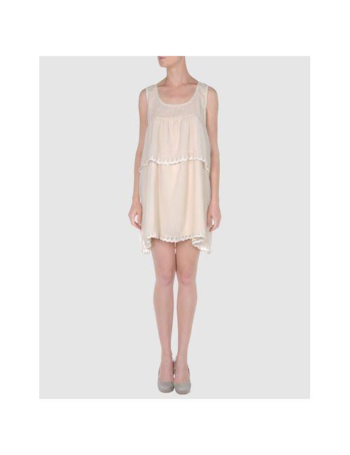 Numph | Женское Бежевое Короткое Платье