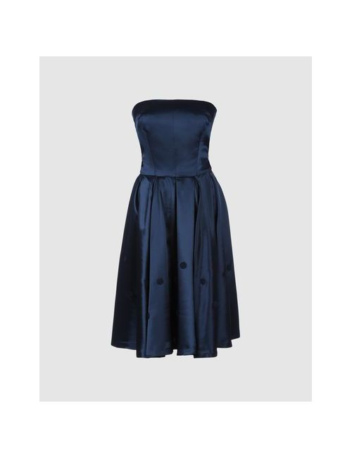 Reclaim To Wear By Livia Firth | Женское Синее Короткое Платье