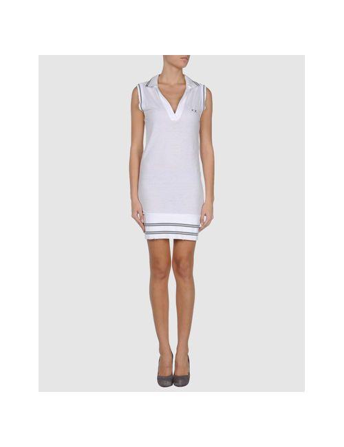 Project E | Женское Белое Короткое Платье