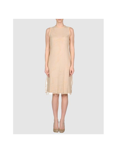 Boxley | Женское Бежевое Короткое Платье