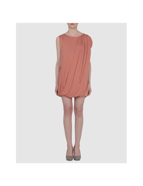 Misericordia | Женское Розовое Короткое Платье