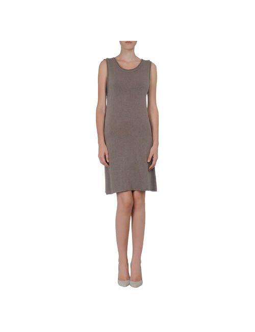 D_Onis | Женское Серое Короткое Платье