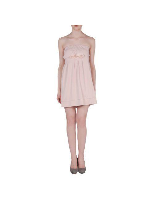 No Secrets | Женское Розовое Короткое Платье