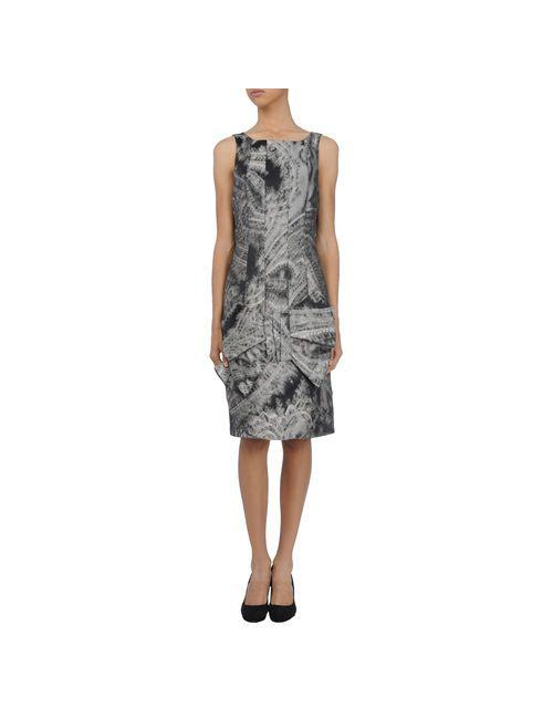 Amaya Arzuaga | Женское Чёрное Короткое Платье