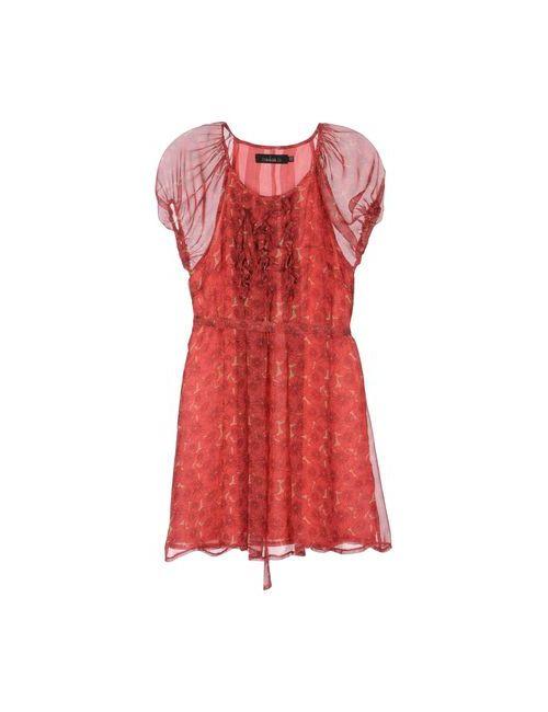 Mina | Женское Фиолетовое Короткое Платье