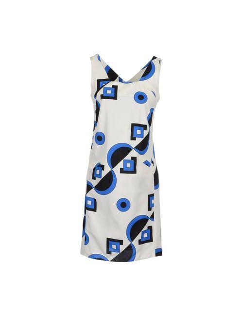 Marni | Женское Белое Короткое Платье