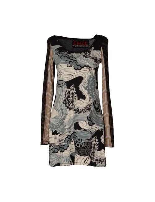 Custoline | Женское Черный Короткое Платье