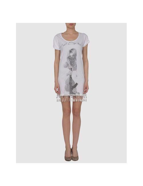 Bad Spirit | Женское Белое Короткое Платье