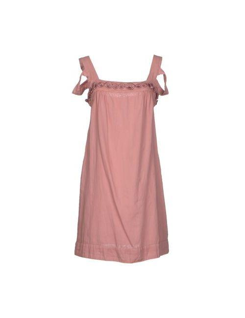 Dondup | Женское Розовое Короткое Платье
