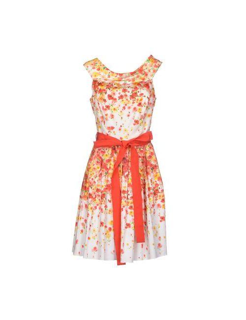 Blugirl Blumarine | Женское Красное Короткое Платье