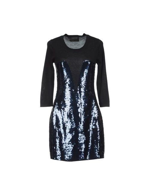 Markus Lupfer | Женское Чёрное Короткое Платье