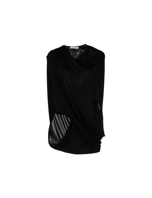 Givenchy | Женская Чёрная Футболка