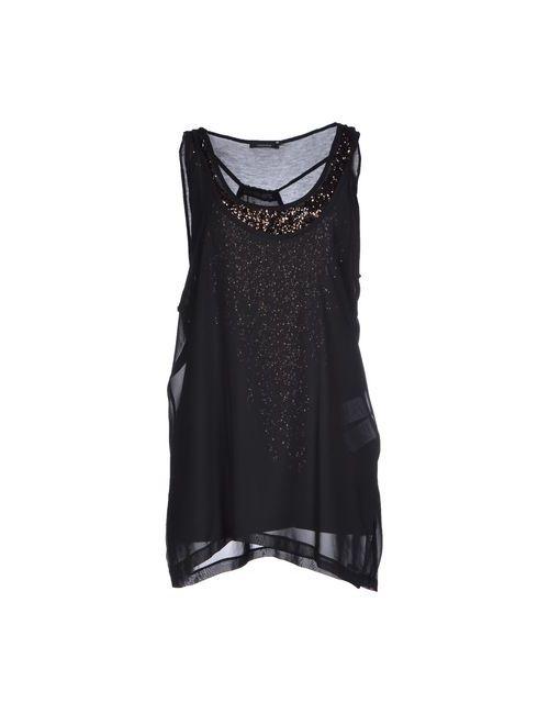 Caractere   Женское Чёрное Короткое Платье