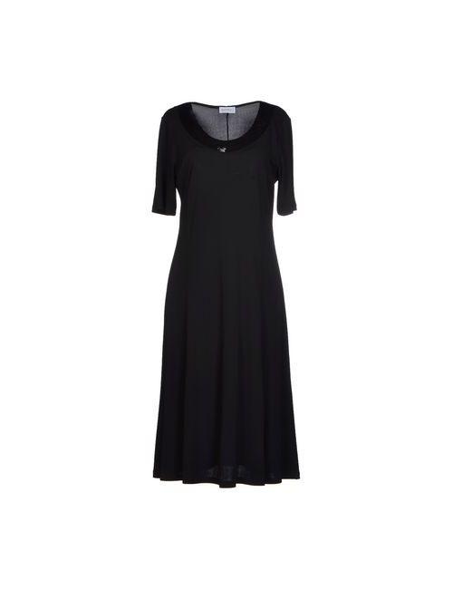FRANCESCA MERCURIALI | Женское Черный Платье До Колена
