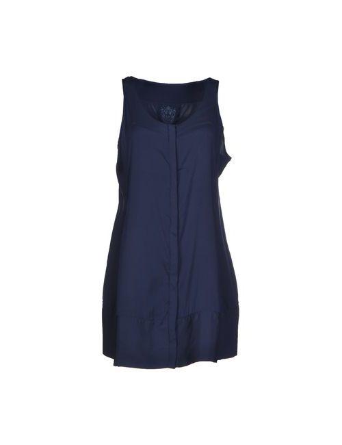 MARITHÉ + FRANÇOIS GIRBAUD | Женское Синее Короткое Платье