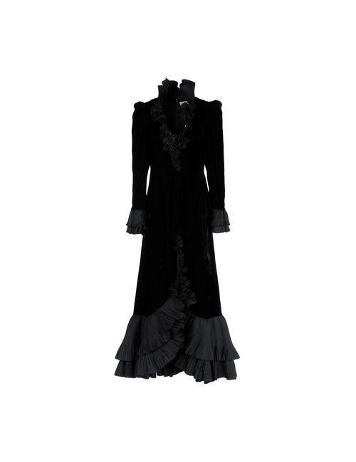 SCHERRER | Женское Чёрное Длинное Платье
