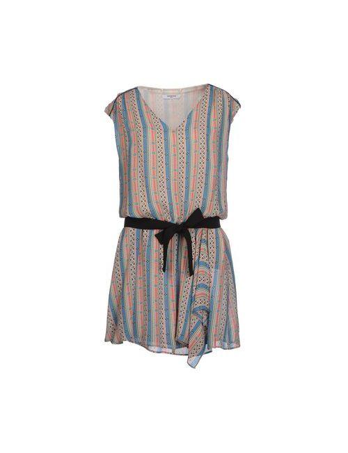 Axara Paris   Женское Синее Короткое Платье