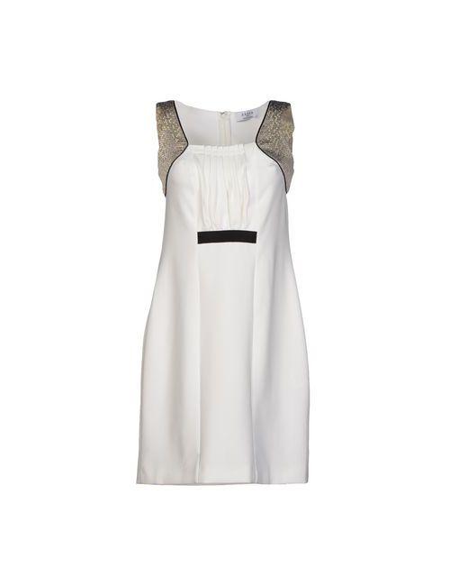 Axara Paris | Женское Белое Короткое Платье
