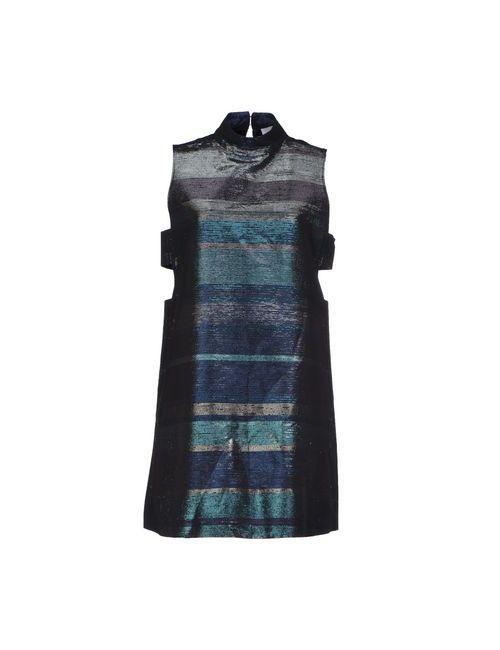 American Retro | Женское Черный Короткое Платье